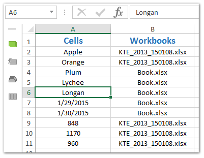 Quickly find and break broken links (external references) in