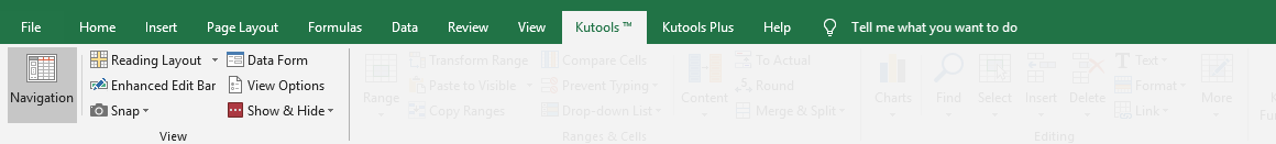 shot kutools view group