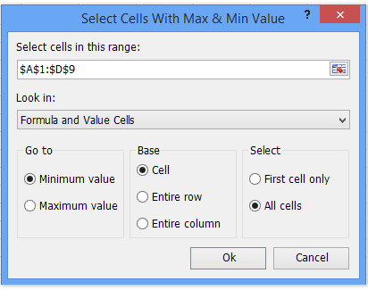 shot select max min values ​​2