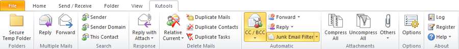 Các add-in Outlook add-in cho Outlook 5.00