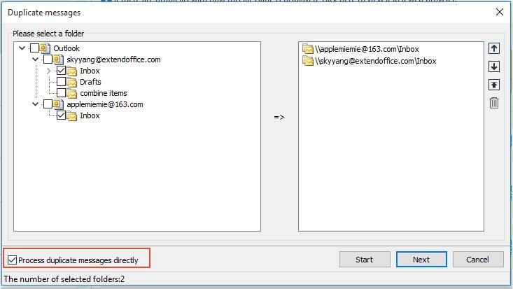 shot delete duplicate emails 10