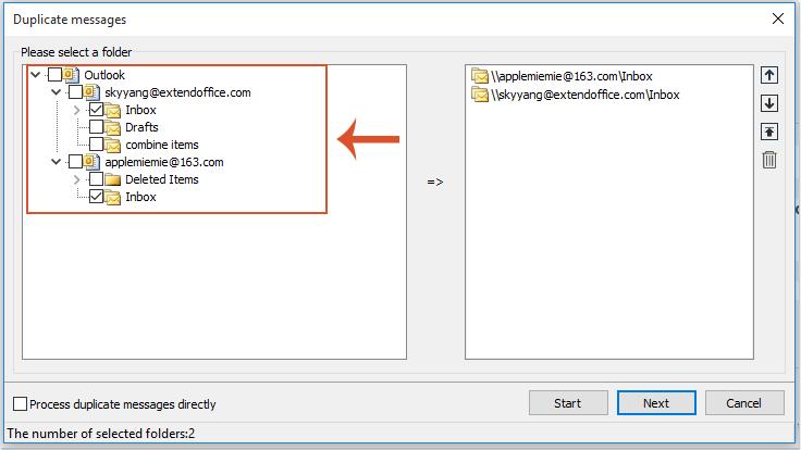 shot delete duplicate emails 2