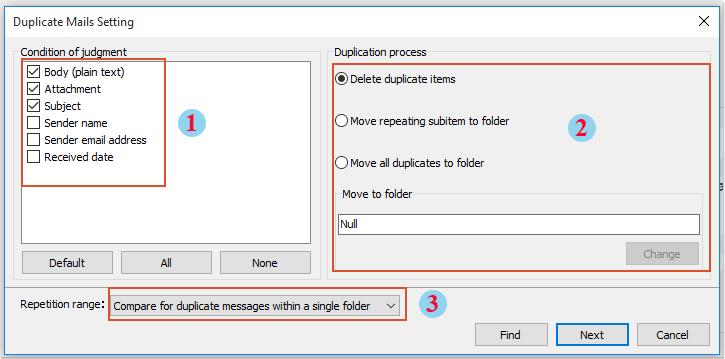 shot delete duplicate emails 3