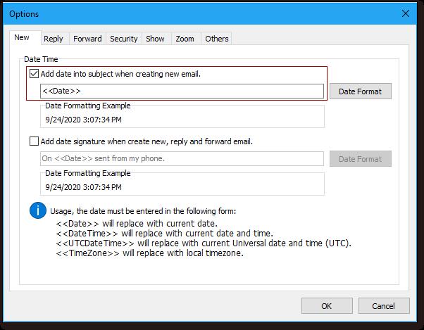 scatto inserimento automatico data / ora al soggetto 3