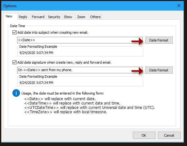 scatto inserimento automatico data / ora al soggetto 4