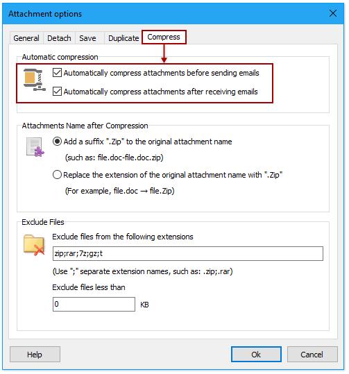 샷 압축 모든 첨부 파일을 압축 해제 004