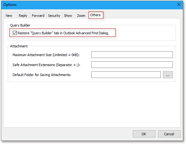 shot kto enable query builder 2