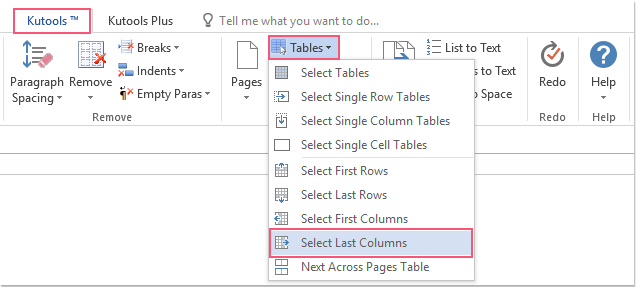 shot select all last columns of tables 01