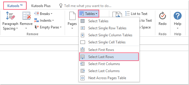 shot select all last rows of tables 01