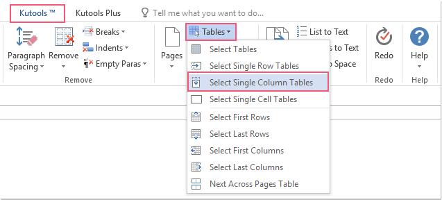 shot select all single column tables 01