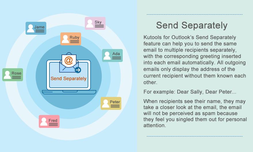 send separately feature list en