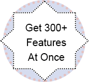 300 features