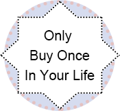 buy once